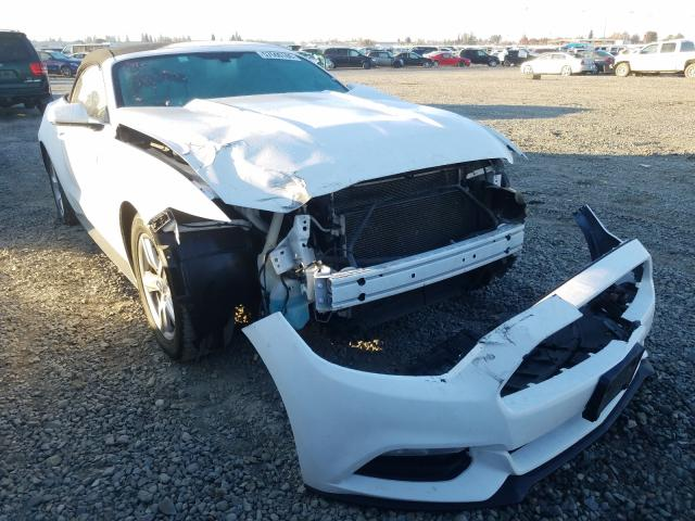 Salvage cars for sale from Copart Sacramento, CA: 2015 Ford Mustang