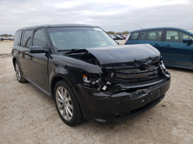 Salvage cars for sale from Copart Temple, TX: 2011 Ford Flex Limited