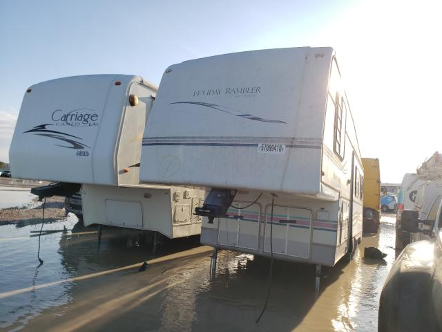 Salvage cars for sale from Copart Houston, TX: 1995 Holiday Rambler Travel Trailer