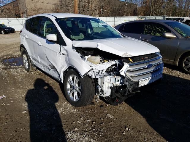Vehiculos salvage en venta de Copart North Billerica, MA: 2019 Ford Escape SE
