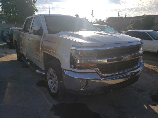 Salvage trucks for sale at Opa Locka, FL auction: 2017 Chevrolet Silverado