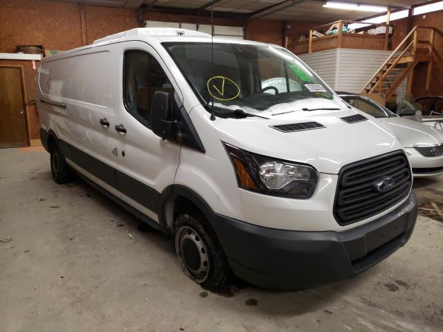 Salvage cars for sale from Copart Ebensburg, PA: 2018 Ford Transit T