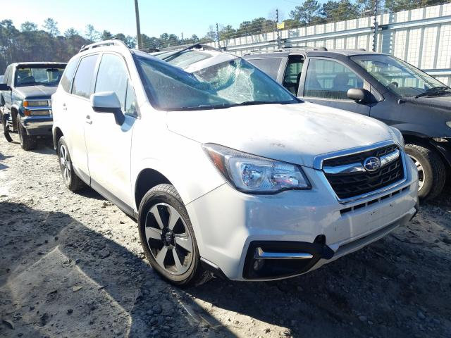 Salvage cars for sale from Copart Ellenwood, GA: 2018 Subaru Forester 2