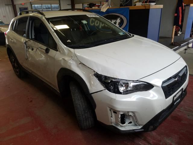 Salvage cars for sale from Copart Angola, NY: 2018 Subaru Crosstrek