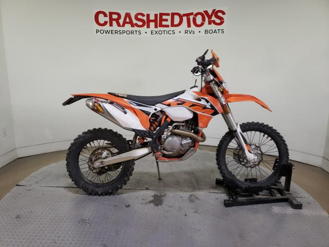 KTM salvage cars for sale: 2016 KTM 500 XC-W