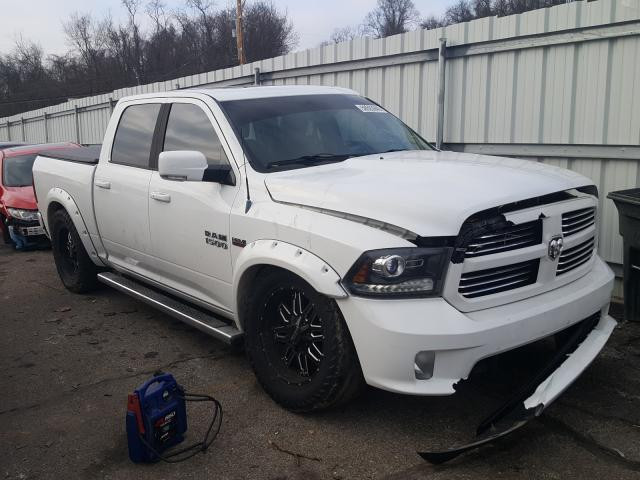 Salvage cars for sale from Copart West Mifflin, PA: 2013 Dodge RAM 1500 Sport