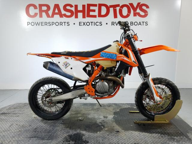 KTM salvage cars for sale: 2018 KTM 450 XC-F