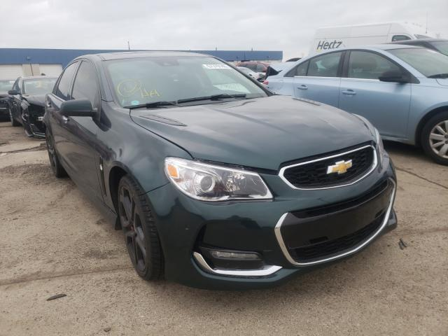 Chevrolet SS salvage cars for sale: 2017 Chevrolet SS