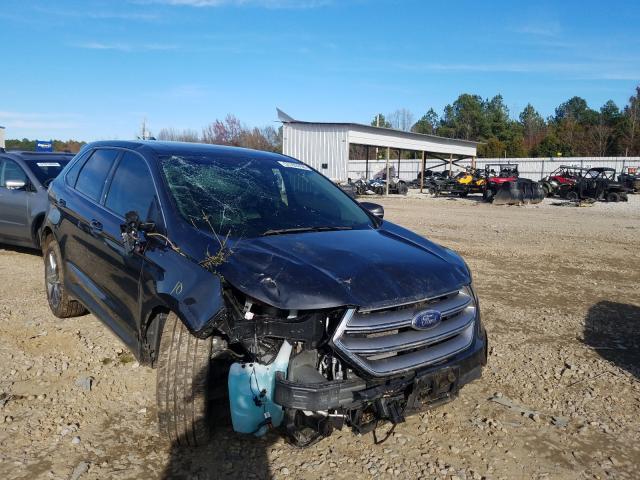 Salvage cars for sale at Memphis, TN auction: 2017 Ford Edge Titanium