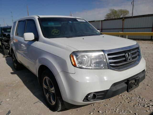Salvage cars for sale from Copart Haslet, TX: 2015 Honda Pilot SE