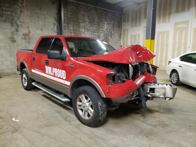 Salvage cars for sale from Copart Chalfont, PA: 2004 Ford F150 Super