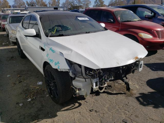 Salvage cars for sale from Copart Colton, CA: 2015 KIA Optima EX
