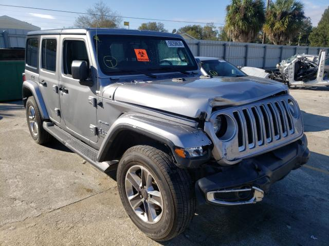 Salvage cars for sale from Copart Punta Gorda, FL: 2019 Jeep Wrangler U