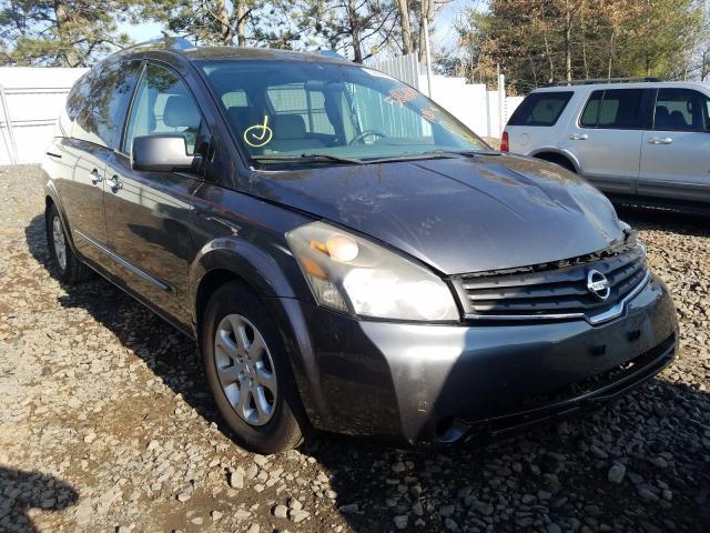 Nissan Quest salvage cars for sale: 2009 Nissan Quest