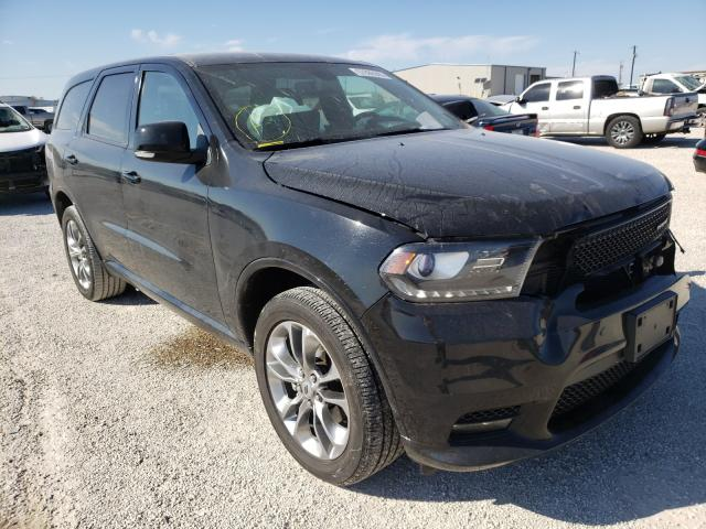 Salvage cars for sale from Copart San Antonio, TX: 2019 Dodge Durango GT