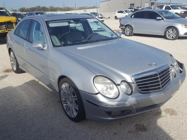 Salvage cars for sale from Copart San Antonio, TX: 2007 Mercedes-Benz E 350