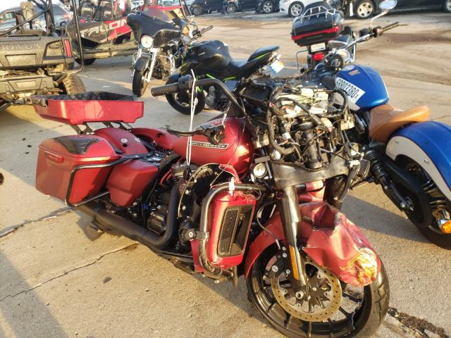 Salvage cars for sale from Copart Woodhaven, MI: 2019 Harley-Davidson Flhxs