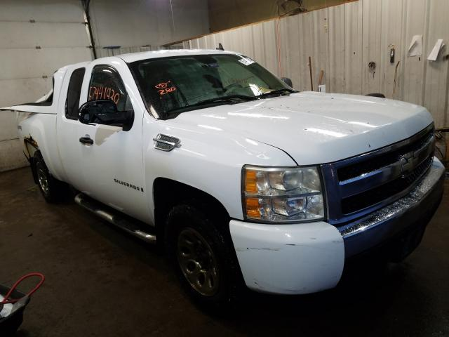 Salvage cars for sale from Copart Lyman, ME: 2007 Chevrolet Silverado