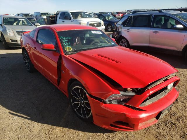 Salvage cars for sale from Copart Amarillo, TX: 2013 Ford Mustang GT