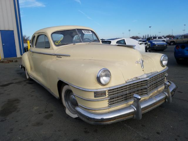 Salvage cars for sale from Copart Vallejo, CA: 1946 Chrysler Windsor