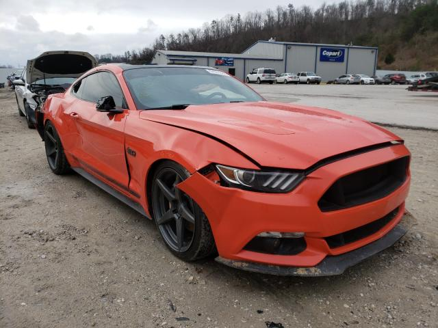 Ford Mustang GT salvage cars for sale: 2016 Ford Mustang GT
