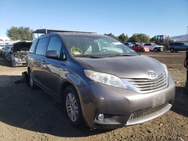 2012 Toyota Sienna Xle 3.5L, VIN: 5TDYK3DCXCS179779, аукцион: COPART, номер лота: 57607730