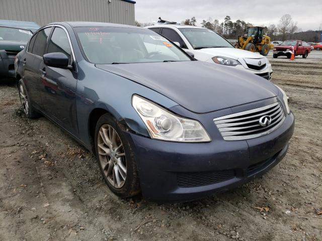 Salvage cars for sale from Copart Spartanburg, SC: 2009 Infiniti G37 Base