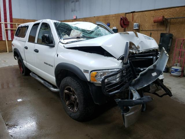 Salvage cars for sale from Copart Kincheloe, MI: 2004 Dodge RAM 1500 S