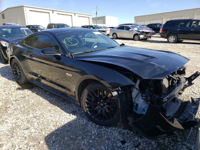 Salvage cars for sale from Copart Gainesville, GA: 2018 Ford Mustang GT
