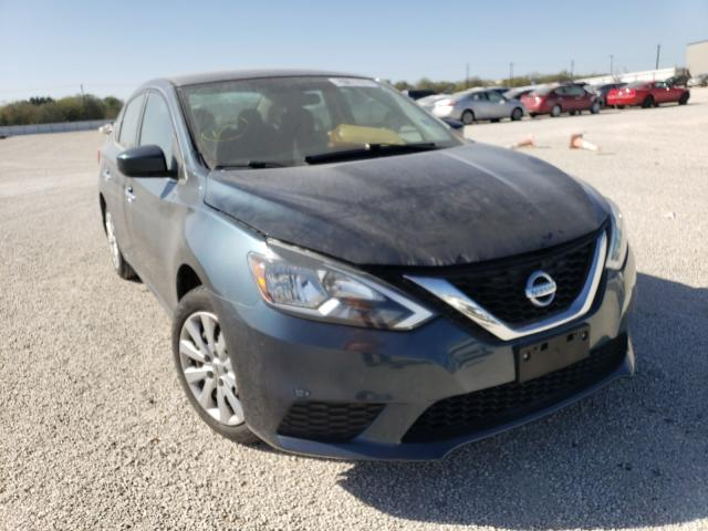 Salvage cars for sale from Copart San Antonio, TX: 2016 Nissan Sentra S