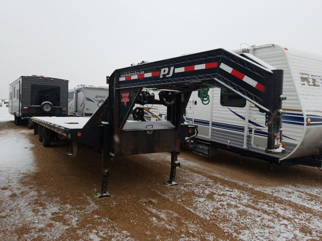 Salvage cars for sale from Copart Colorado Springs, CO: 2013 PJ Trailer