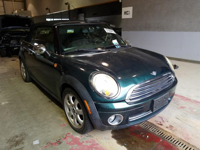 Salvage cars for sale from Copart Sandston, VA: 2010 Mini Cooper