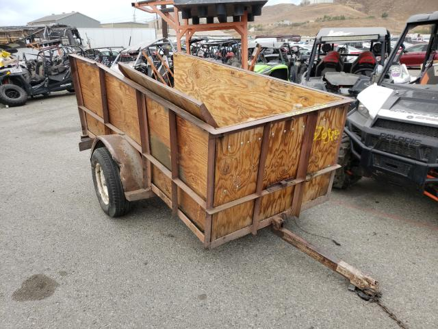 Salvage cars for sale from Copart Colton, CA: 1991 Whol Trailer