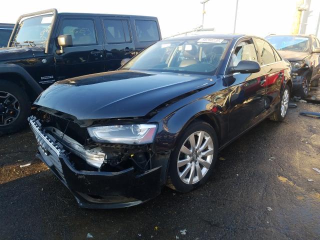 из сша 2013 Audi A4 Premium 2.0L WAUBFAFL5DN021933