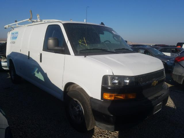 Salvage trucks for sale at Magna, UT auction: 2019 Chevrolet Express G2