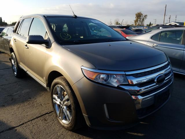 Vehiculos salvage en venta de Copart Los Angeles, CA: 2013 Ford Edge SEL