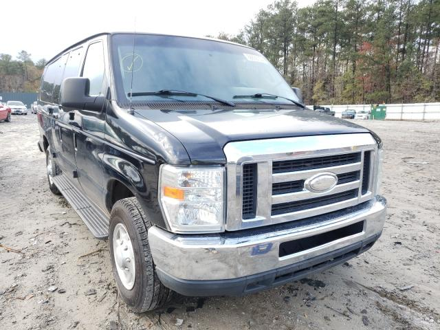 Salvage cars for sale from Copart Ellenwood, GA: 2014 Ford Econoline