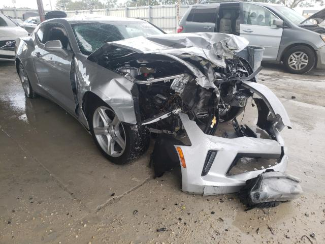 Salvage cars for sale from Copart Homestead, FL: 2018 Chevrolet Camaro LT