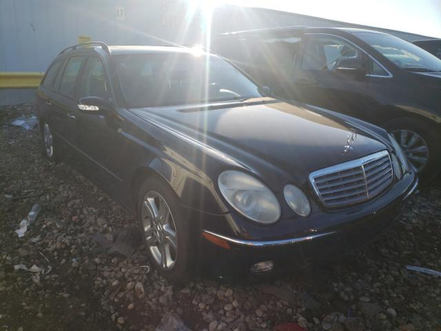 Salvage cars for sale from Copart Cudahy, WI: 2005 Mercedes-Benz E 500 4matic