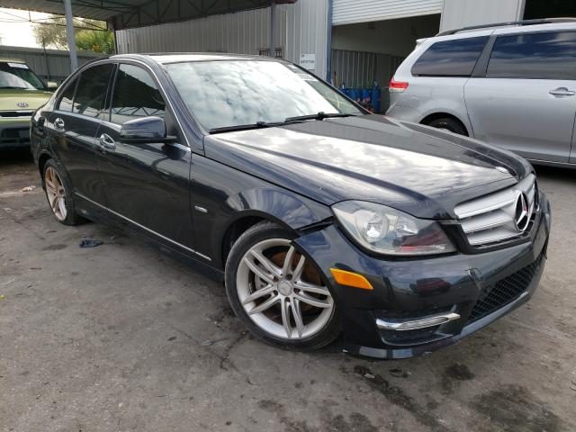 Salvage cars for sale from Copart Orlando, FL: 2012 Mercedes-Benz C 250