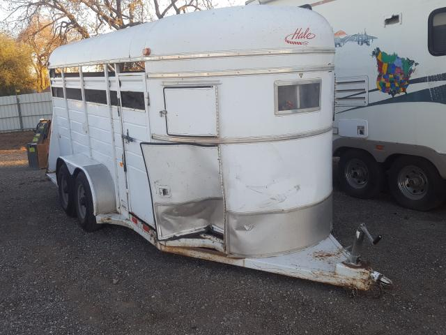 Trailers Vehiculos salvage en venta: 1996 Trailers Trailer