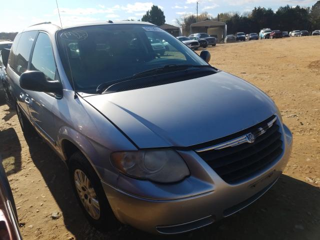 Salvage cars for sale from Copart China Grove, NC: 2007 Chrysler Town & Country