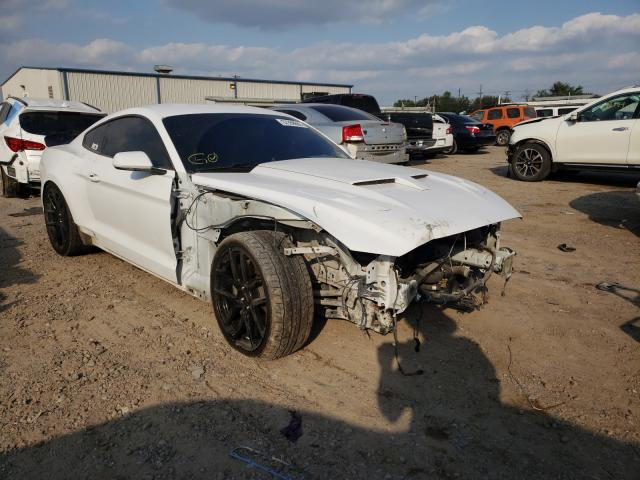 Salvage cars for sale from Copart Mercedes, TX: 2016 Ford Mustang GT