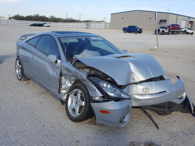 Salvage cars for sale from Copart San Antonio, TX: 2003 Toyota Celica GT