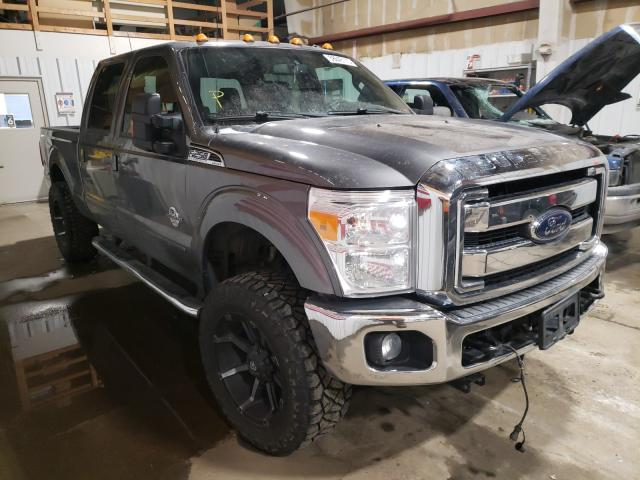 Salvage cars for sale from Copart Anchorage, AK: 2012 Ford F250 Super