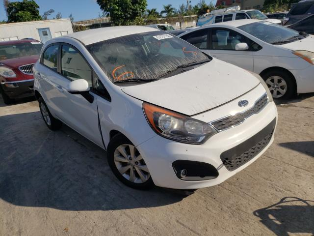 KIA Rio EX salvage cars for sale: 2013 KIA Rio EX