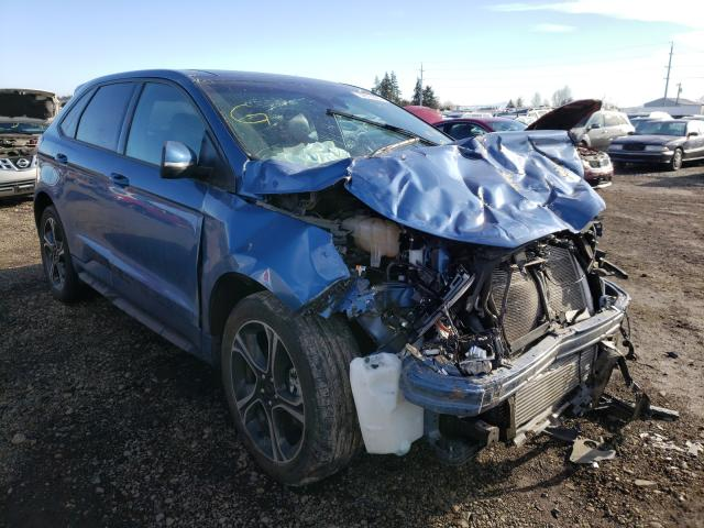 Salvage cars for sale from Copart Eugene, OR: 2019 Ford Edge ST