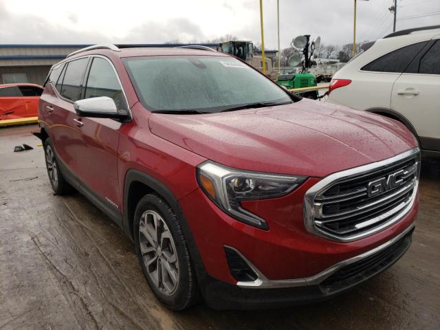 Salvage cars for sale from Copart Lebanon, TN: 2019 GMC Terrain SL