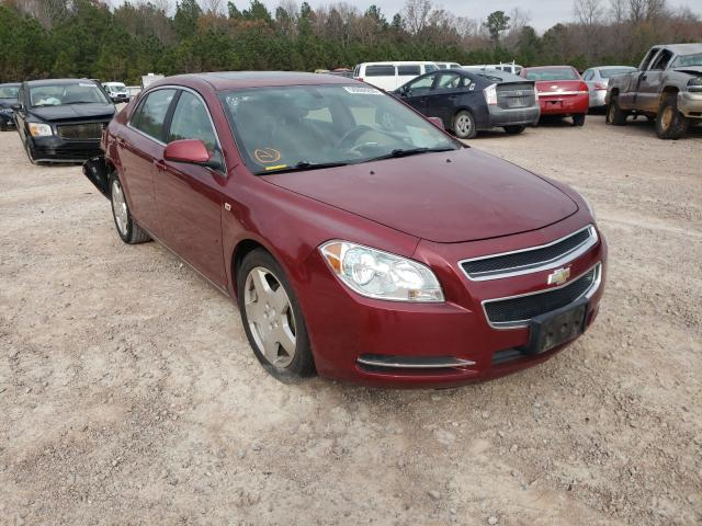 Salvage cars for sale from Copart Charles City, VA: 2008 Chevrolet Malibu 2LT