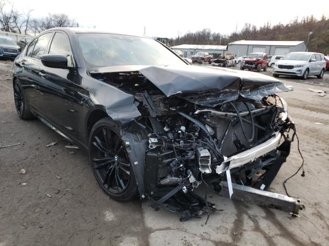 BMW M5 salvage cars for sale: 2018 BMW M5